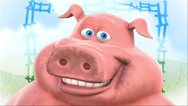 Pig from Back at the Barnyard | Cartoon | Nick.com