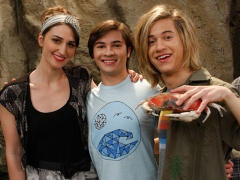 Sara Bareilles Guest Stars on Bucket and Skinner