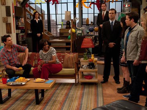 iCarly: foto dall'episodio Incontro la First Lady