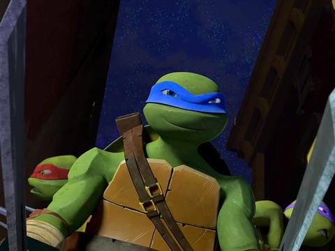 No se preocupen, ciudadanos. ¡Llegó el superheróico capitán tortuga!