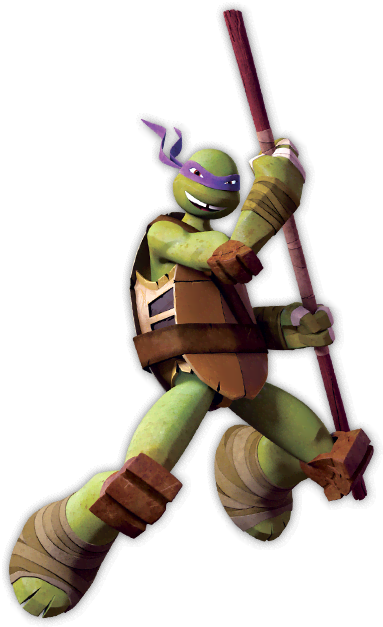 Teenage mutant ninja turtles les tortues ninja personnages - Tortues ninja donatello ...