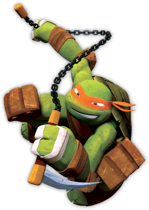 Michelangelo From Teenage Mutant Ninja Turtles Cartoon