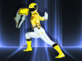 Whether she's hitting the books or the bad guys, one word describes the Yellow Ranger. Unstoppable.
