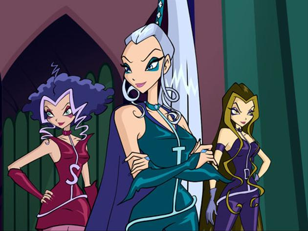 Winx: The Evil Trio of Trix