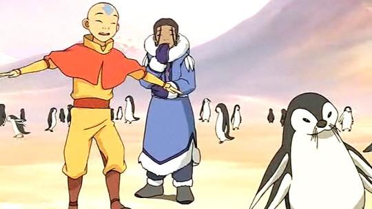 Avatár - Aang legendája | 1. Könyv - Víz | 1. fejezet - A jégbe fagyott fiú