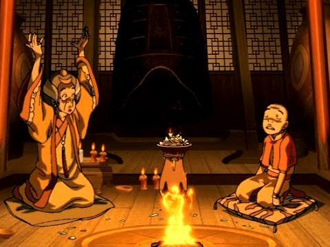 Avatár - Aang legendája | 1. Könyv - Víz | 14. fejezet - A jós