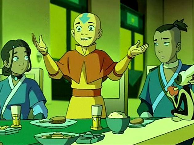 Avatár - Aang legendája | 1. Könyv - Víz | 5. fejezet - Omashu királya