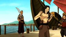 Avatár - Aang legendája | 1. Könyv - Víz | 9. fejezet - A vízidomár tekercs
