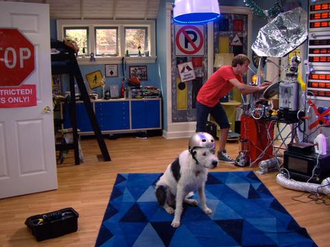 """Marvin Marvin: """"Space-cation: Doggie Teleporter!"""""""