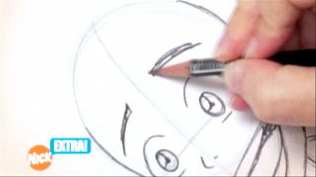 inside the nicktoons studio how to draw aang episode clip nick videos