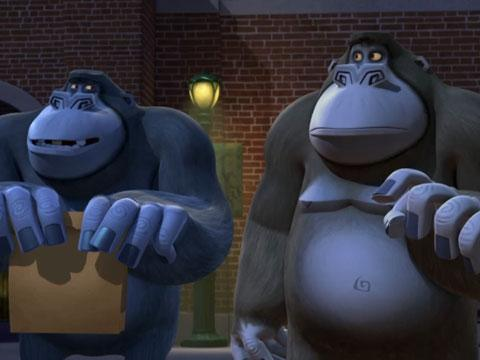 "Penguins of Madagascar: ""Mental Hen: Gorilla Mischief"""
