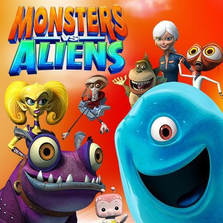Монстры против пришельцев (6+)