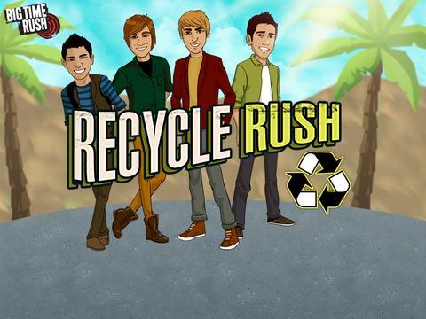 Big Time Rush: Recycle Rush