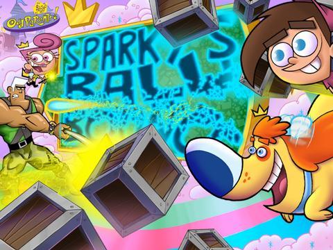 Los Padrinos Mágicos: Lanza la pelota con Sparky
