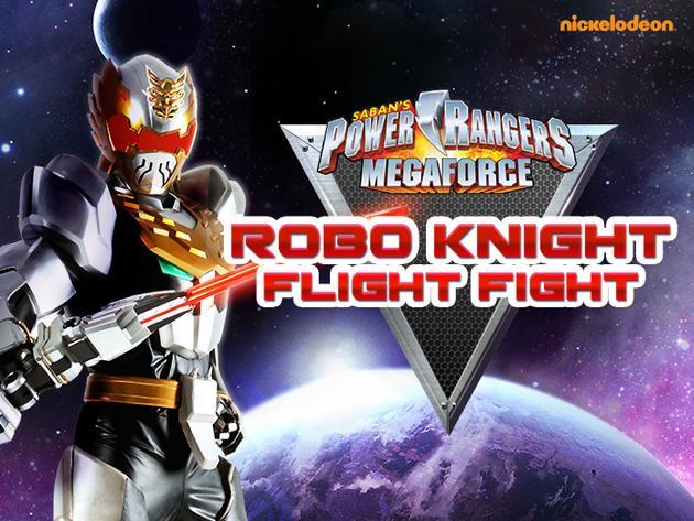 Power Rangers Megaforce: Robo Knight Flight