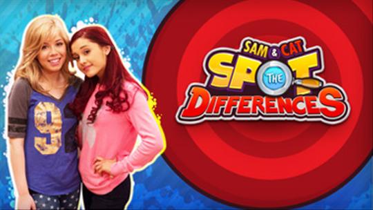 Sam & Cat: Trova le Differenze