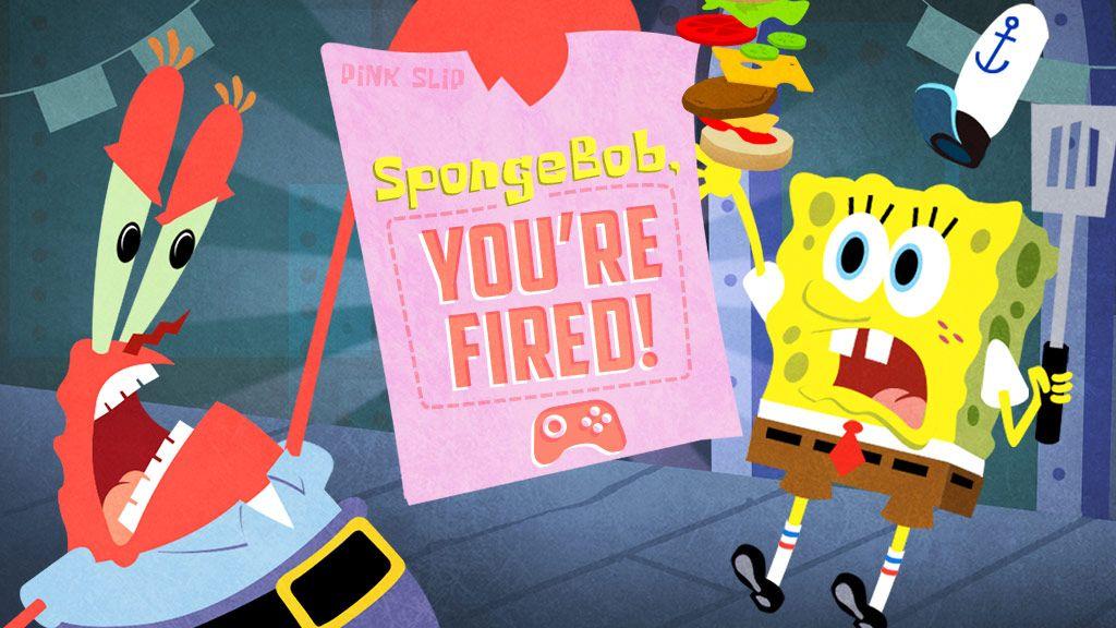 spongebob squarepants  spongebob you u0026 39 re fired