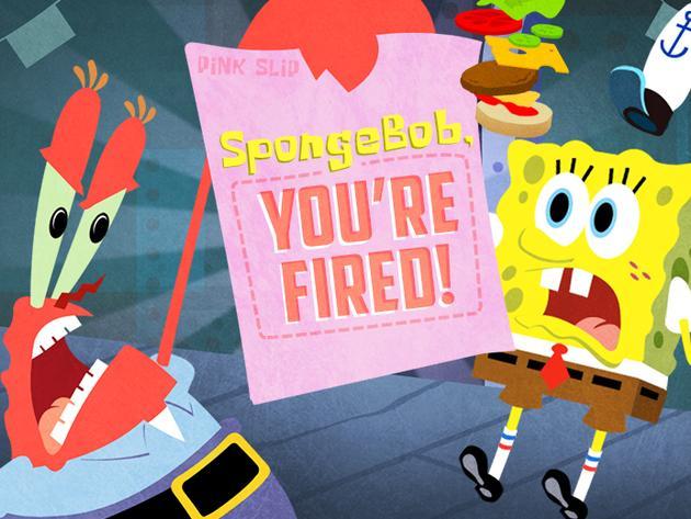 Spongebob, al lavoro!!!