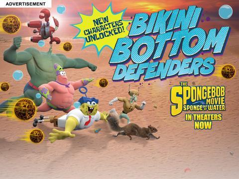 Sponge Bikini Bottom