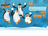 Oh Snow You Didn't! | Penguins of Madagascar
