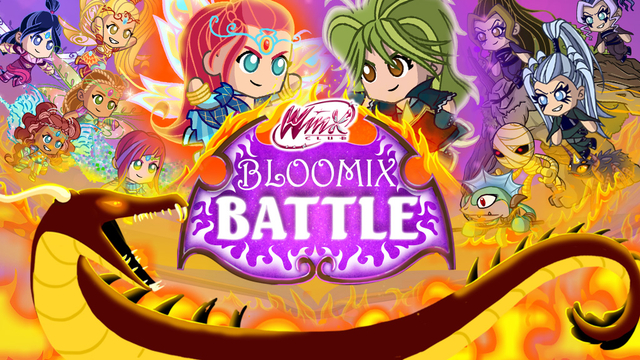 Winx bloomix battle - Winx magic bloomix ...