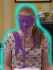 ¡Bella en púrpura!