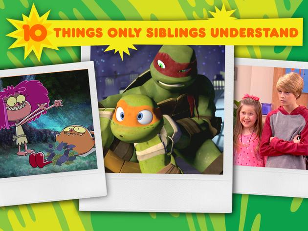 10 Things Only Siblings Understand