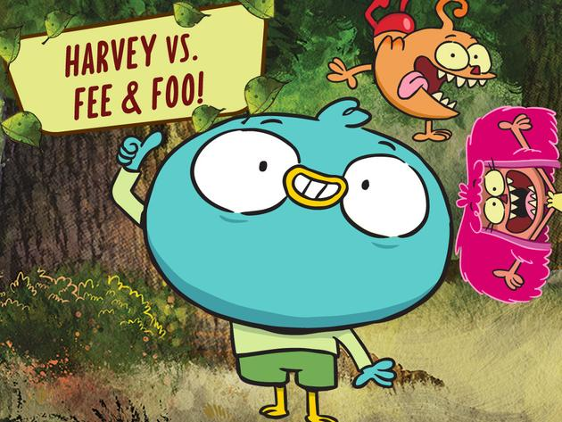 Harvey vs. Fee & Foo!