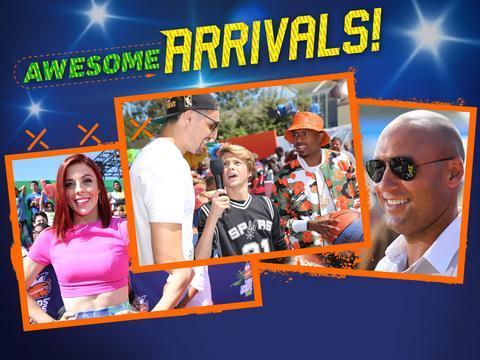 Kids' Choice Sports: Best Orange Carpet Moments!
