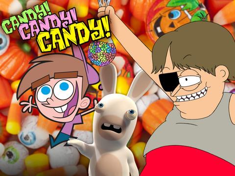 ¡Queremos dulces de Halloween!