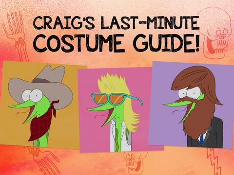 Craig's Last-Minute Costume Guide!