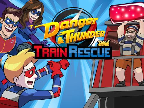 Nickelodeon: Danger and Thunder Train Rescue