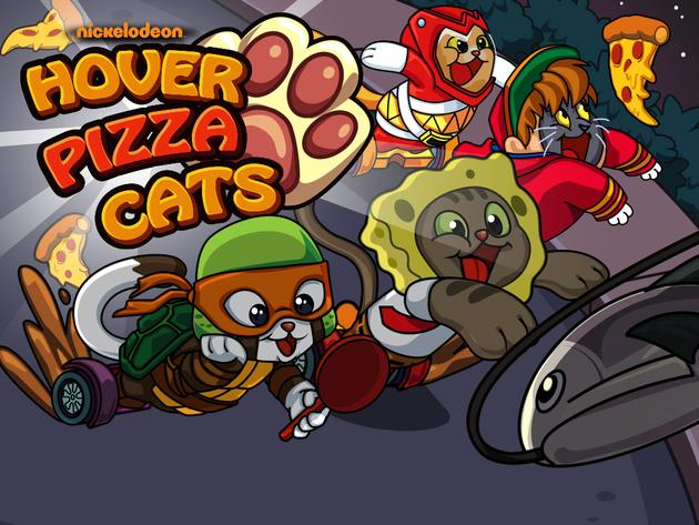 Nickelodeon Hover Pizza Cats