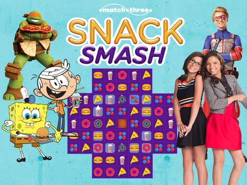 Nickelodeon: Snack Smash