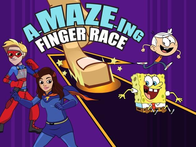 Nickelodeon: Parmak Yarışı Labirenti