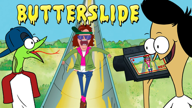 Sanjay And Craig Butterslide X on Goat Ing