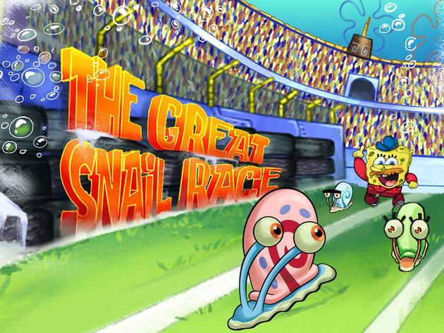 SpongeBob SquarePants: The Great Snail Race