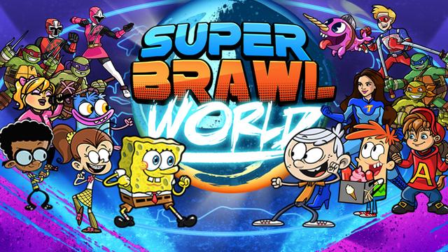 Nickelodeon Super Brawl World Action Game
