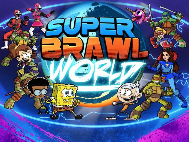 Nickelodeon: Super Brawl World