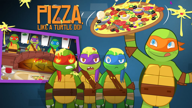 Pizza Like A Turtle Do Teenage Mutantninja Turtles