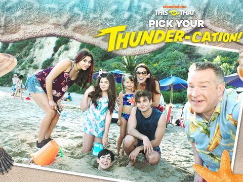 The Thundermans: Pick Your Thunder-cation