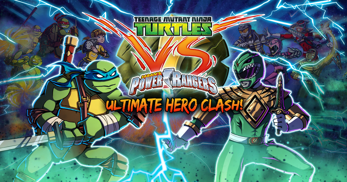 power rangers vs ninja turtles