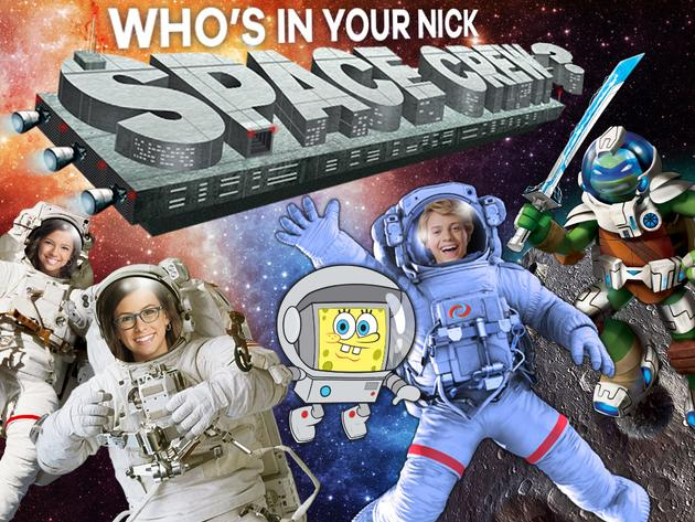 Nickelodeon: Who's In Your Nick Space Crew?