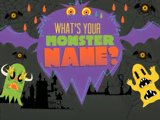 Nickelodeon: What's Your Monster Name?