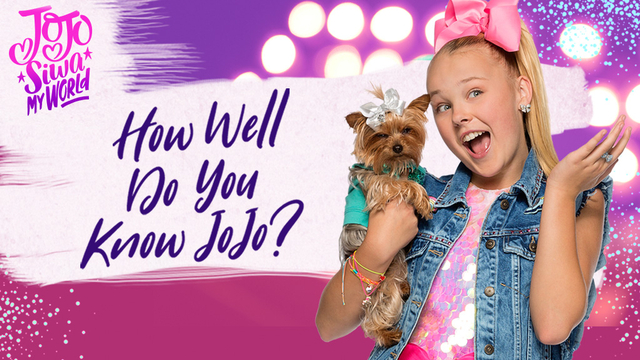 Jojo Siwa My World How Well Do You Know Jojo Quiz Game