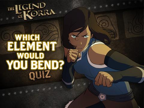 Legend of Korra: Which Element Would You Bend?
