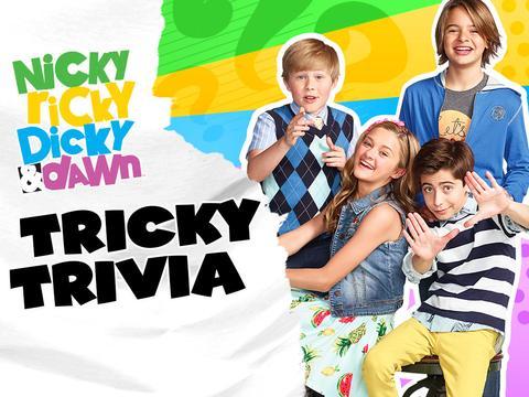 Nicky, Ricky, Dicky, & Dawn: Tricky Trivia