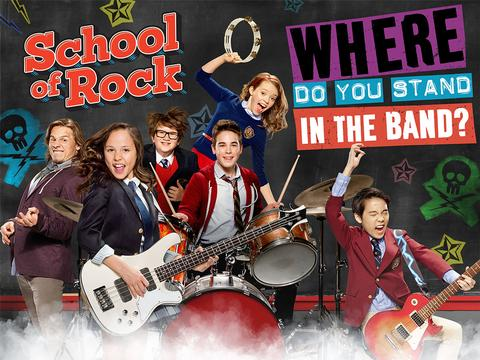 School of Rock: Where Do You Stand In The Band?
