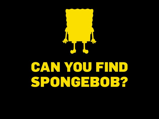 SpongeBob SquarePants: Can You Find SpongeBob?