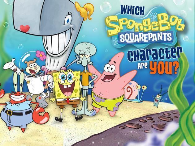 SpongeBob SquarePants: Which SpongeBob Character Are You?